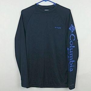 Columbia Omni Shade Long Sleeve PFG Shirt Mens XS